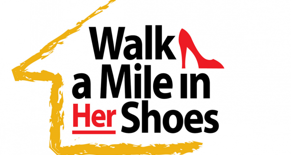 2017 Yellow Brick House Walk a Mile in Her Shoes web banner and e-signature