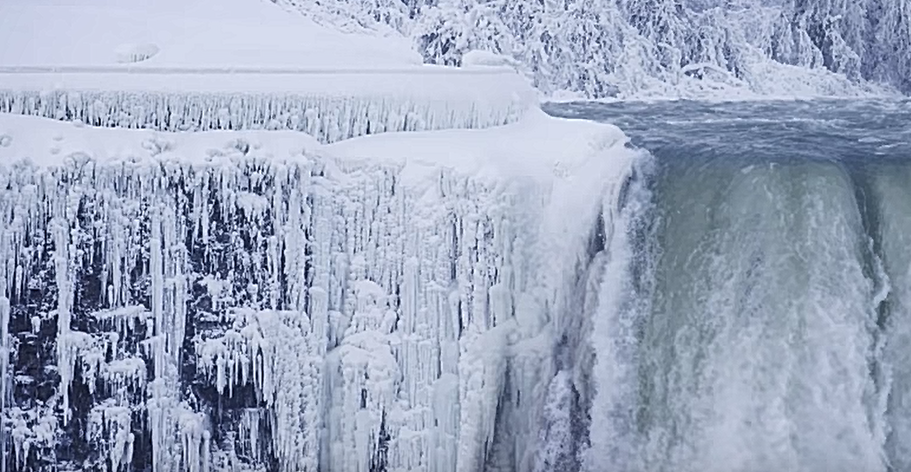 It Was So Cold Niagara Falls Was Frozen Over Chfi